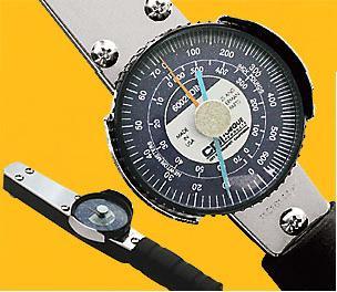 附錶式扭力板手,錶盤式扭力扳手